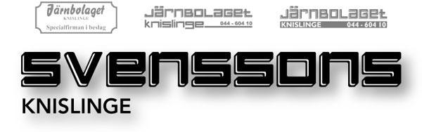 Järnbolaget byter namn till Svenssons i Knislinge